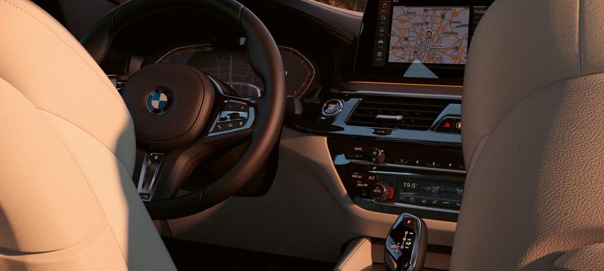 Cockpit BMW 6er Gran Turismo 640i xDrive G32 2020 Interieur
