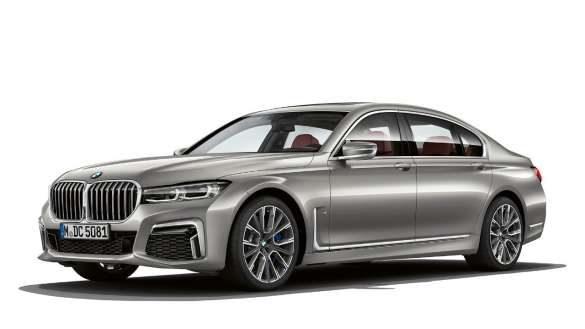 BMW M760Li xDrive von links vorne
