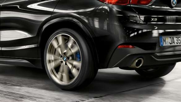 BMW X2 M35i Hinterräder