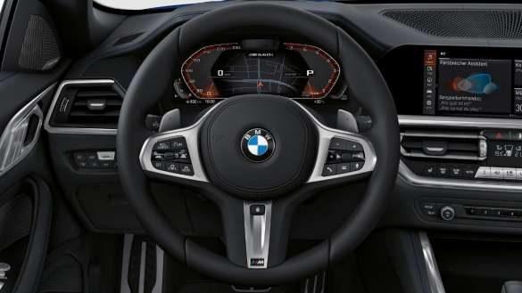 BMW M440i xDrive Cabrio M Lederlenkrad