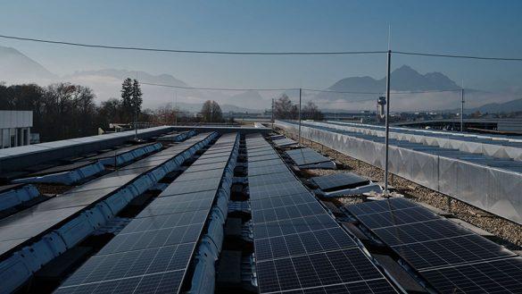 Campus Salzburg Photovoltaik
