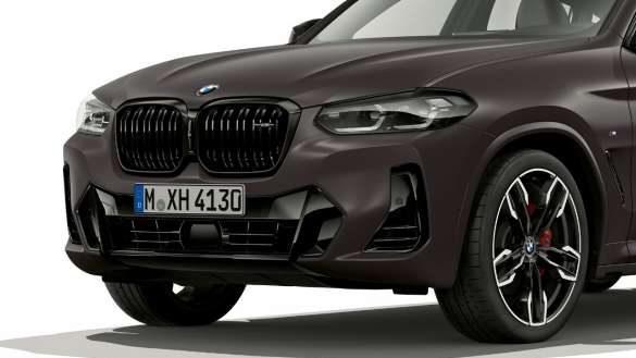 BMW X4 M40i M40d G02 LCI 2021 Facelift M Aerodynamikpaket Frontschürze