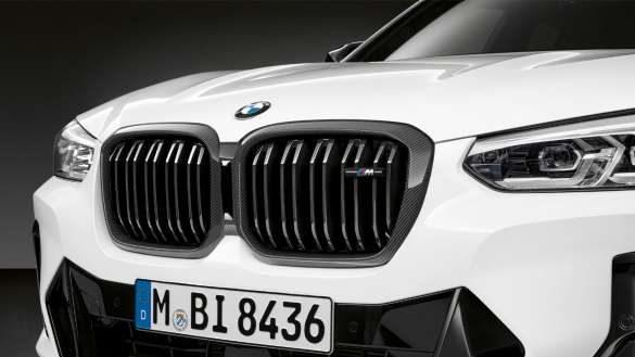 BMW X4 G02 M Performance Frontziergitter Carbon 2021